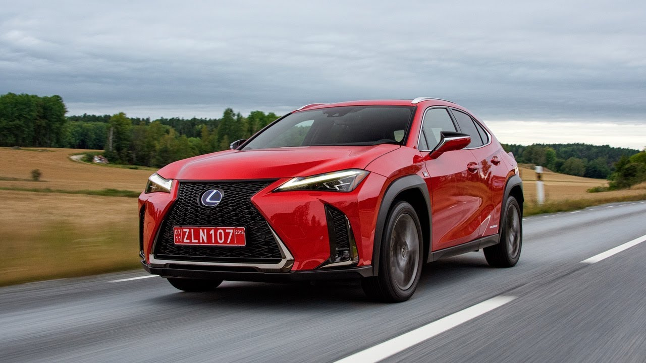 2019 lexus ux 250h f sport red youtube. Black Bedroom Furniture Sets. Home Design Ideas
