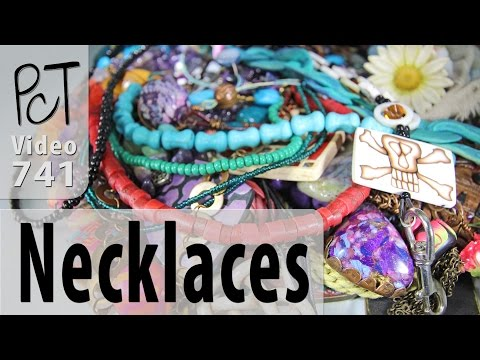 Polymer Clay Necklaces - A Million and One Design Ideas