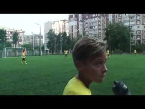 1 тайм ФК Атлет U11 Киев - ФК Столица U11 Киев (7+1) 13.08.2019