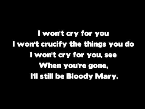 Lady GaGa - Bloody Mary (LYRICS)