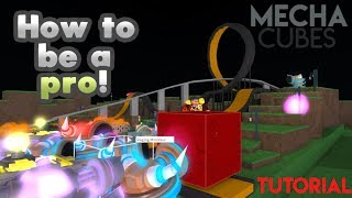 [Roblox] MechaCubes: Tutorial how to be a pro! (Infinite rounds, settings, orbs & more)