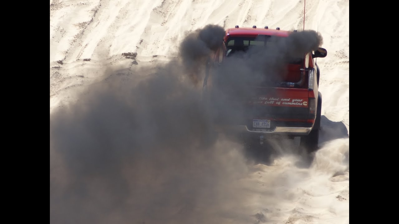 ROLLIN' COAL Diesel Trucks at Silver Lake Sand Dunes