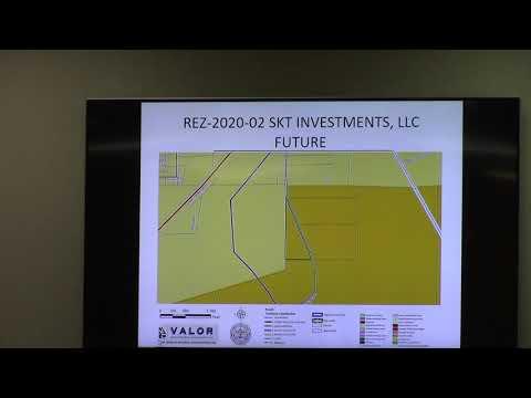 16. REZ-2020-02 SKT Investments, LLC, Lester Rd., 10.5 ac., E-A to R-A