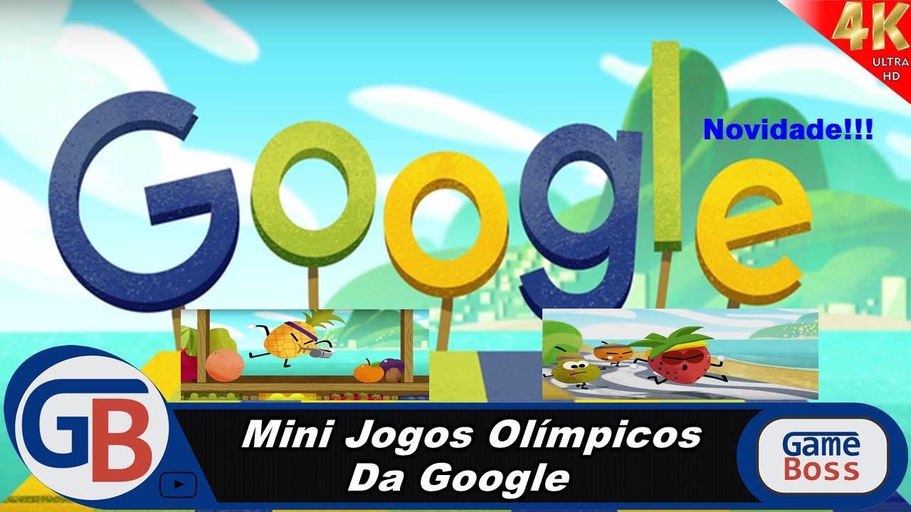 OLIMPÍADAS 2016 – DOODLE FRUIT GAME – MINI JOGOS DO GOOGLE [NOVIDADE: DOODLES DE TEMA OLÍMPICO] – 4K