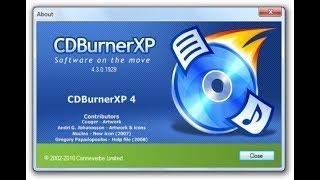 cDBurnerXP Обзор бесплатной программы и её функций