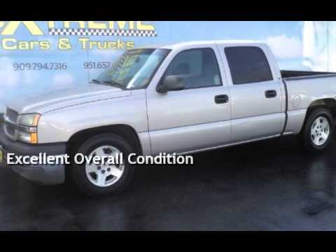 Used 2005 Chevy Silverado 1500 Crew Cab Ls For In Redlands Ca Trucks You