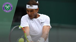 Rafa Nadal vs Jo-Wilfried Tsonga Wimbledon 2019 third round highlights