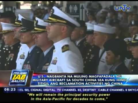 US, nagbanta na muling magpapadala ng military aircraft sa South China Sea