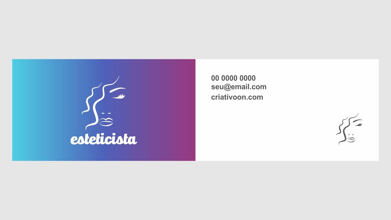 Modelos de Cartão de Vista Criativos Para Sua Empresa