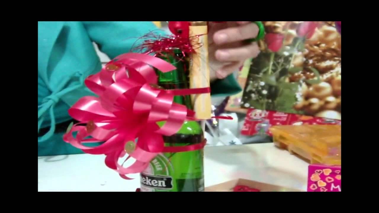 Como hacer un regalo para hombres original facil - Manualidades para chicos ...