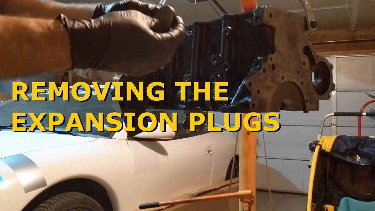 How to Remove Freeze Plug or Expansion Plug 420A- Eclipse 2G Project
