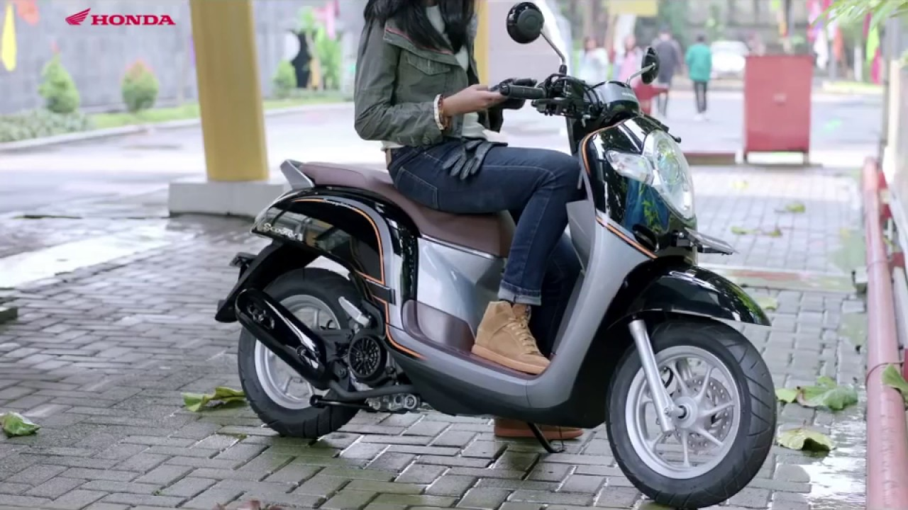 Dewa Modifikasi 50 Modifikasi Scoopy Stylish Black Terbaru Dan