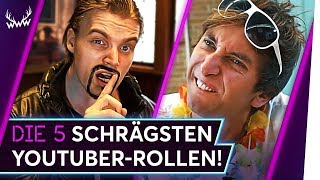 Die 5 SCHRÄGSTEN YouTuber-Rollen! | TOP 5