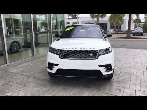 2018 Range Rover Velar D180 / BMW of Ocala / walkaround