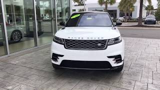 2018 Range Rover Velar D180 / BMW of Ocala / walkaround