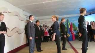 Вчителька української літератури заміняє урок фізкультури (наш варіант)