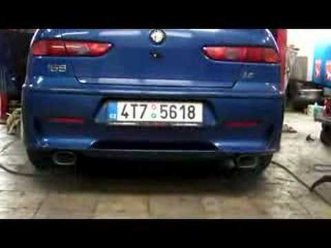 alfa 156 sw gta with duplex ragazzon youtube. Black Bedroom Furniture Sets. Home Design Ideas