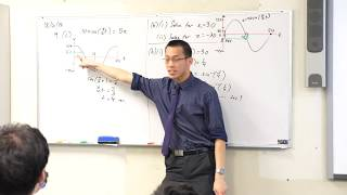 Simple Harmonic Motion Example Question (3 of 3: Using graph symmetry)