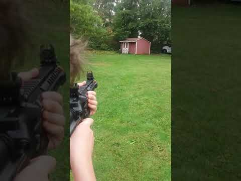 Sbooting The New Valken PDW Alloy Series Airsoft Gun