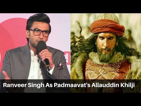 Ranveer Singh On 'Padmaavat' And The Risk Of Playing Alauddi