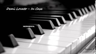 Demi Lovato - In Case (instrumental)