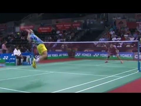 Lee CW v THidayat MS- QF Yonex Sunrise India Open