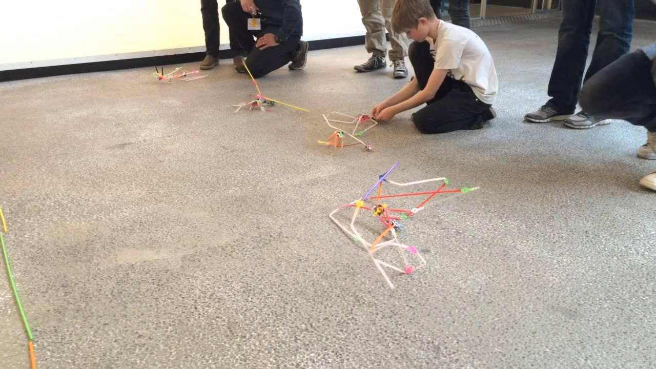 Quirkbot Robot Race Workshop At Fablab At School In Vejle Denmark