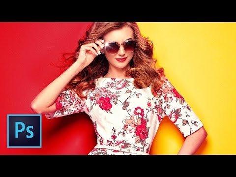 ADVANCED: Change Background Colors & Change the Color of ANYTHING in Photoshop with LAB Color Trick