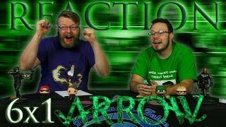"""Arrow 6x1 REACTION!! """"Fallout"""""""