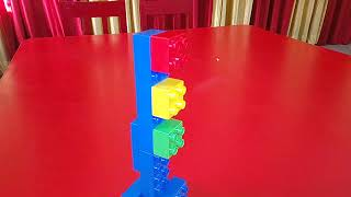 Traffic lights with duplo