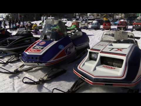 Snowmobiles - Antique Ride White Earth MN