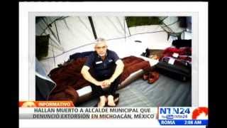 Autoridades mexicanas encuentran sin vida al alcalde del municipio Santa Ana Maya