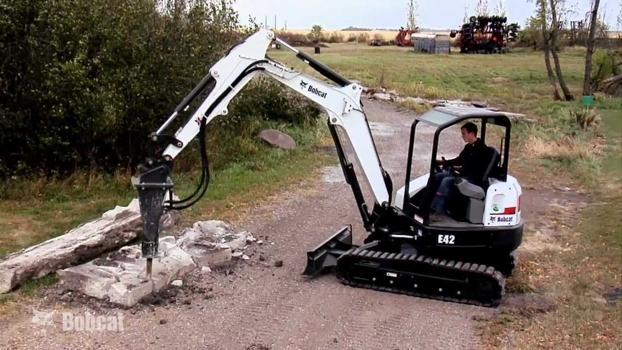 Bobcat Hydraulic Breaker Attachment