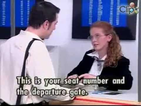 English Conversation 3 02 At airport Duty free goods Passport control