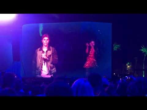 "Justin Bieber says he's coming back ""soon"" Coachella Weekend 2 210419"