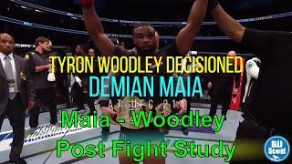 BJJ Scout: Maia v Woodley Post Fight Study