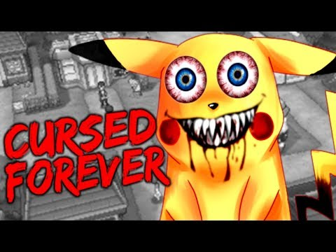 PIKACHU HORROR GAME WILL HAUNT YOUR DREAMS - CURSED FOREVER.EXE [Pokemon Horror Game]