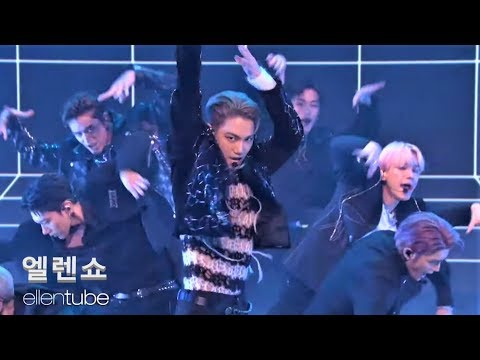 "SuperM(슈퍼엠)_ "" I Can't Stand The Rain + Jopping ""Live @Ellen Show 엘렌쇼"