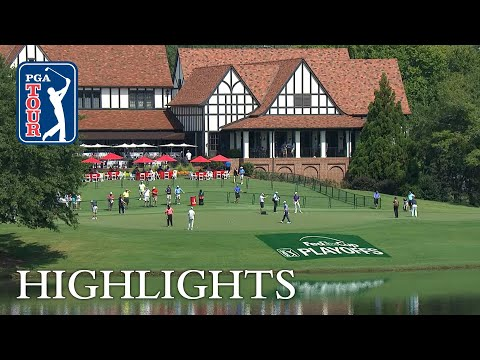 Thomas, Casey and Simpson share the lead at the TOUR Championship