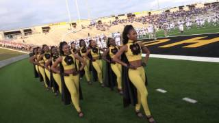 asu marching in 2015 southern university vs alabama state mighty marching hornets stingettes