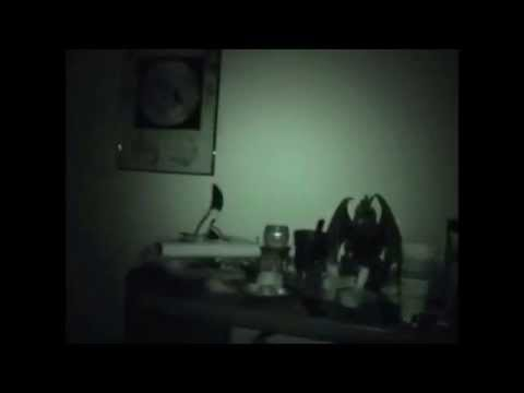 EVP Caught during camera's night vision test
