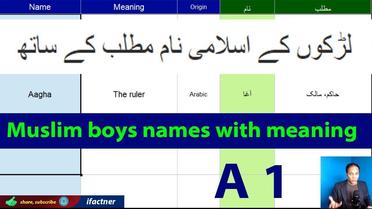 Muslim Girls Names With Meaning Starting With I Modern Islamic Arabic Persian Turkish Urdu Baby Youtube