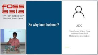 Efficient load balancing in distributed systems - FOSSASIA 2017
