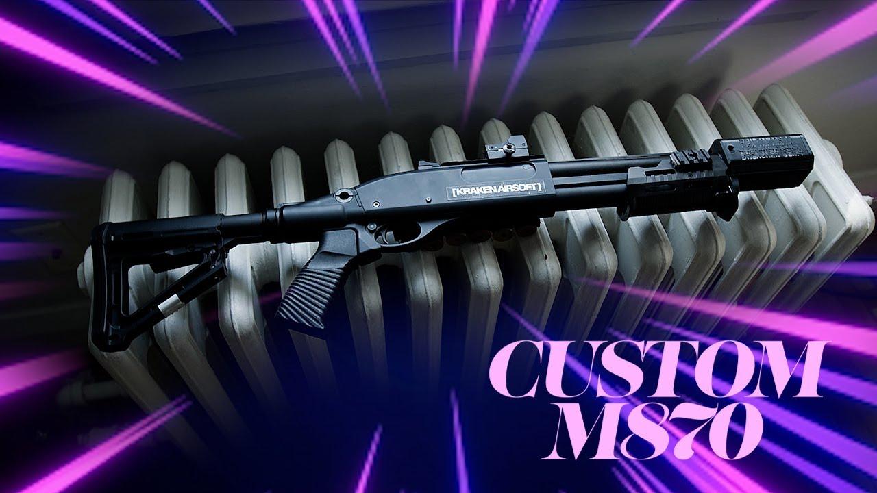 My Custom M870 Build (airsoft)