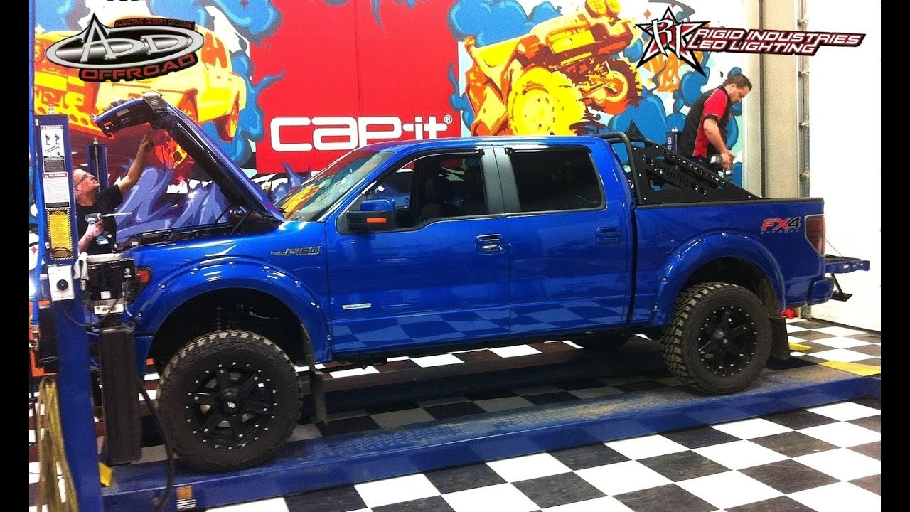 RC ADVENTURES - Make a Full Scale 4x4 Truck look like an RC - 2013 Ford F-150 1/4 - YouTube & RC ADVENTURES - Make a Full Scale 4x4 Truck look like an RC - 2013 ... markmcfarlin.com