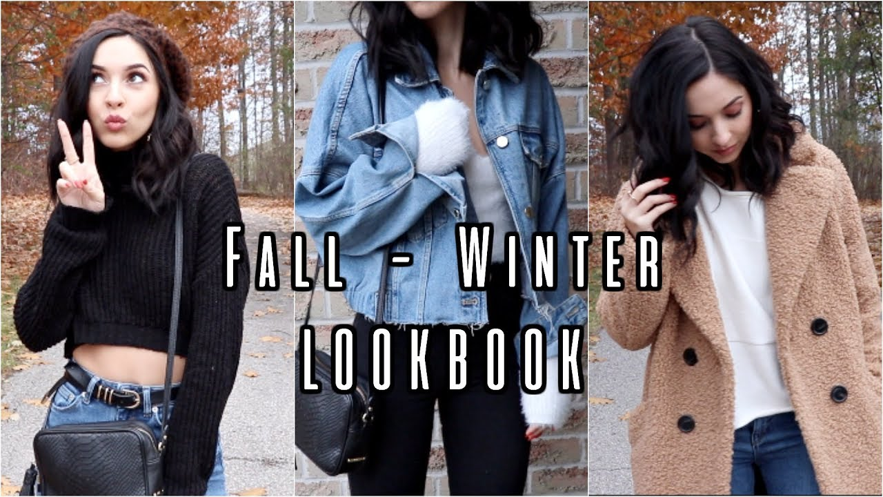 FALL to WINTER LOOKBOOK 2018 | 6 OUTFITS 7