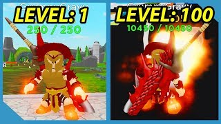 Noob to Pro! Max Level Ares! All Abilities! Roblox God Simulator