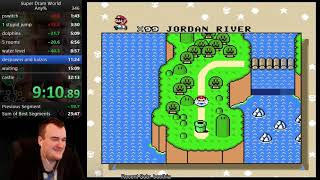 Super Dram World speedrun in 31:58