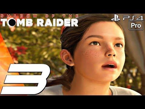Shadow of The Tomb Raider - Gameplay Walkthrough Part 3 - Jaguar Boss Fight & Kid Lara (1080P 60FPS)