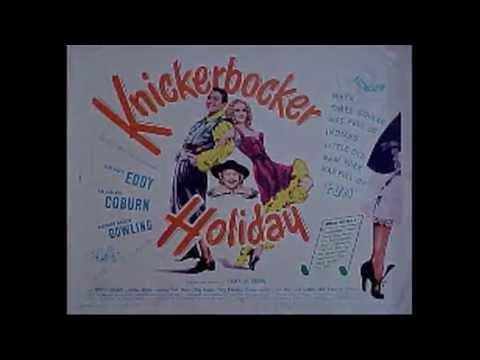 Kurt Weill - It Never Was You - Knickerbocker Holiday - Ezra Williams
